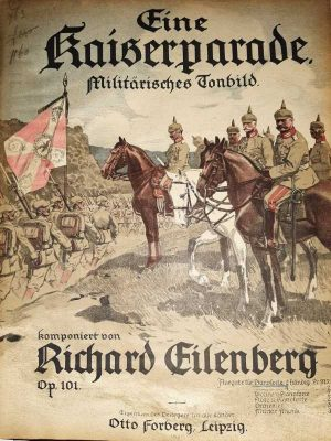 Eine Kaiserparade, Militärisches Tonbild, op.101
