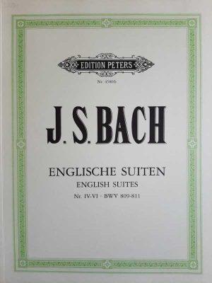 Englische Suiten nr. IV-VI, BWV 809-811